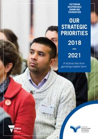 Cover image of the 2018–2021 strategic plan