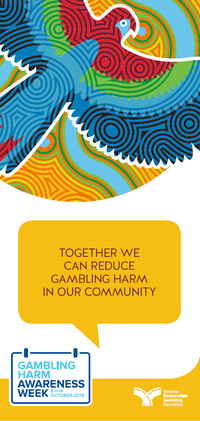 Gambling Harm Awareness Week 2018 Aboriginal brochure