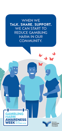 Gambling Harm Awareness Week 2018 brochure
