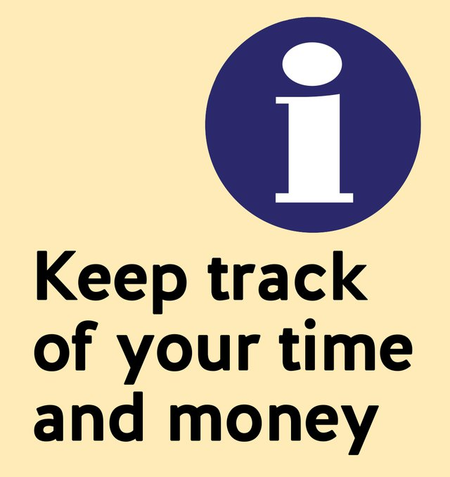 Keep track of your time and money