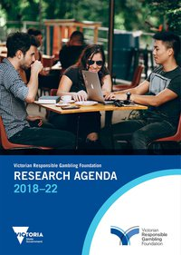 Cover of the Research Agenda 2018–2022