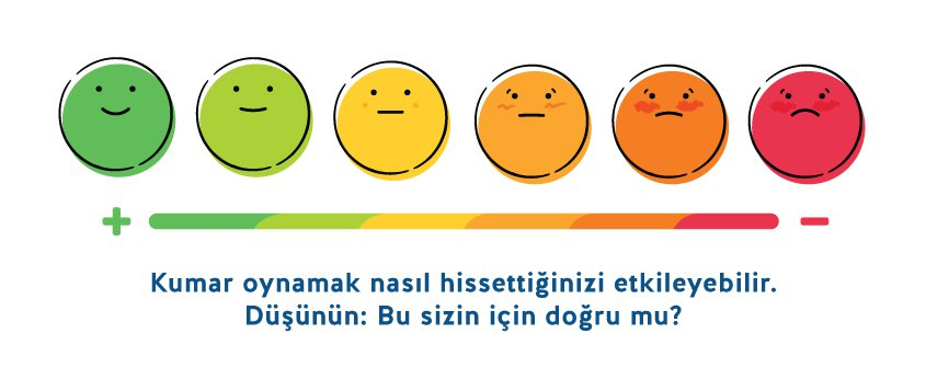Gambling can affect how you feel. Think... is that true for you? [Turkish]