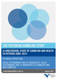 Victorian Gambling Study - technical report part 1