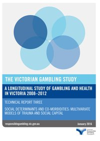 The Victorian gambling study: technical report - part three