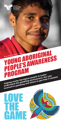 Young Aboriginal people's awareness program brochure cover
