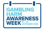 Gambling Harm Awareness Week logo – Gambling Harm Awareness Week 8–14 October 2018